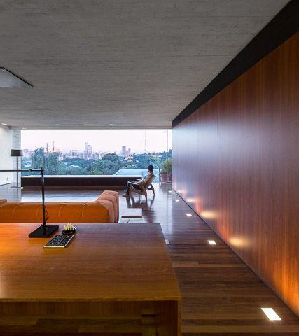 Casa p studio mk27 marcio kogan lair reis living lighting