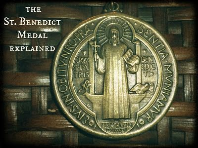 Written By the Finger of God: The Medal of St. Benedict