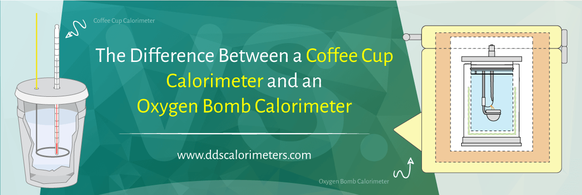 THE DIFFERENCE BETWEEN A COFFEE CUP CALORIMETER & AN