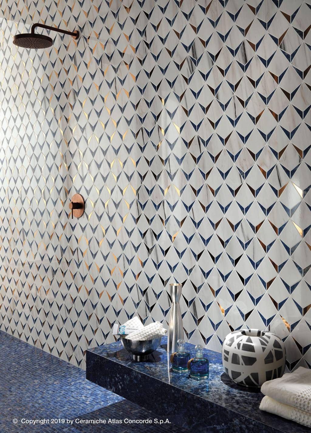Marvel Dream Ultramarine Bathroom Tile Inspiration Marble Wall Tiles Marble Effect