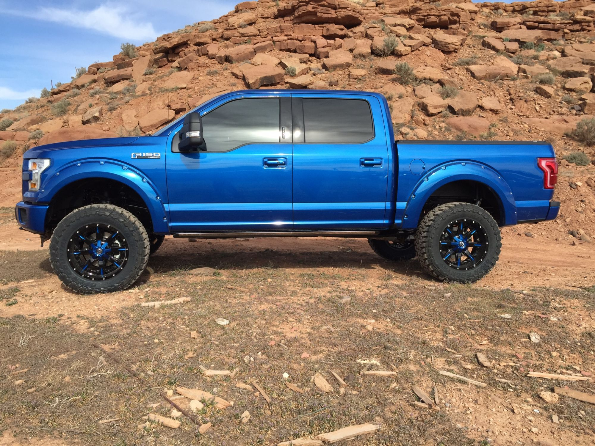 Lariat sport 6 inch bds with ptm grille and bumper ford forum community of ford truck fans