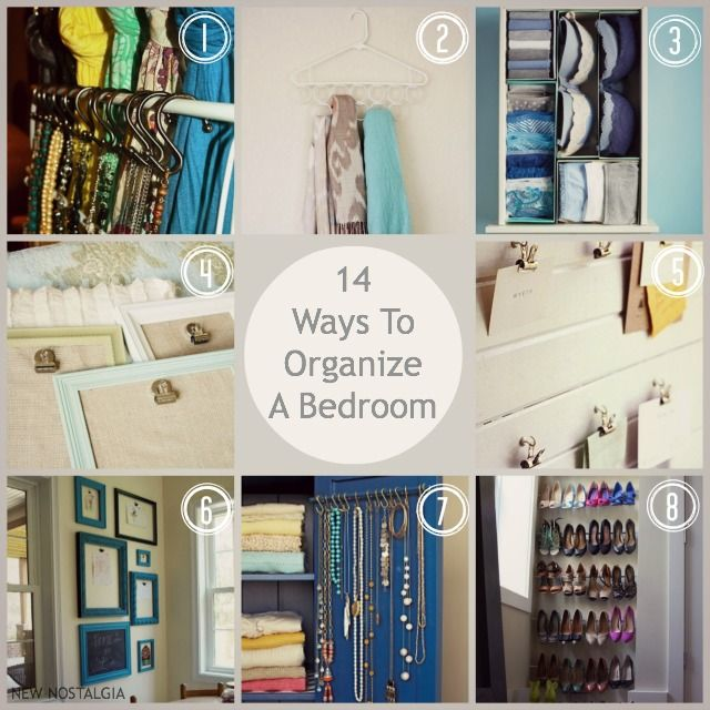 How To Organize A Bedroom Gorgeous 14 Ways To Organize A Bedroom  Nostalgia Organizing And Bedrooms Design Decoration