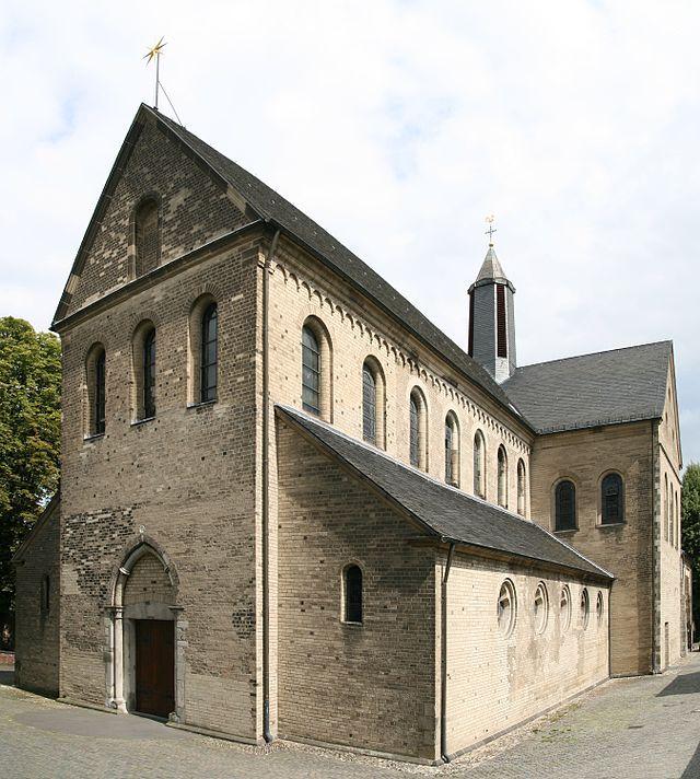 St Suitbertus church in Kaiserswerth/Düsseldorf