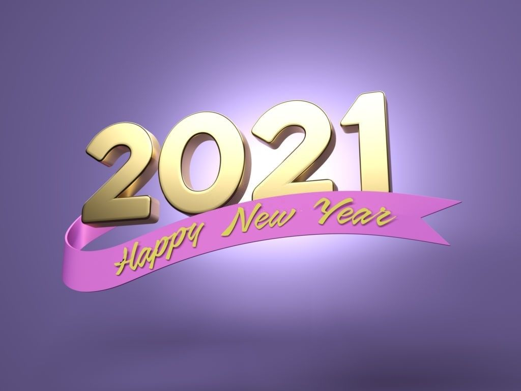 Happy New Year 2021 Wallpaper 2021 Images In 2020 New Year Wishes Images Happy New Year Cards New Year Images