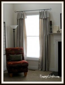 Drop Cloth Curtains With Curtain Clip Hooks From Walmart About