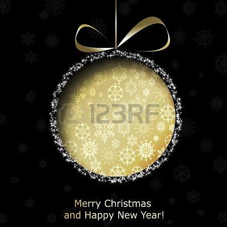 Greeting Card Template For Christmas  Newyear  Christmas