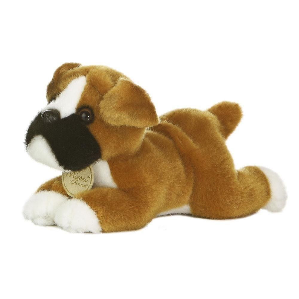 Boxer Puppy Dog Miyoni Stuffed Animal