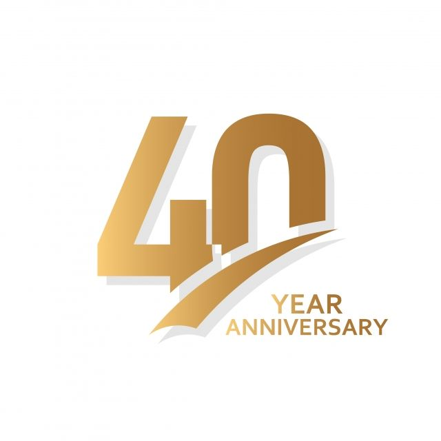Download 40 Year Anniversary Vector Template Design Illustration ...