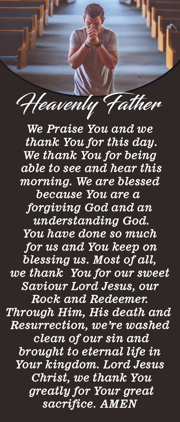 Powerful Morning Prayer and Meditation to Start Your Day ...
