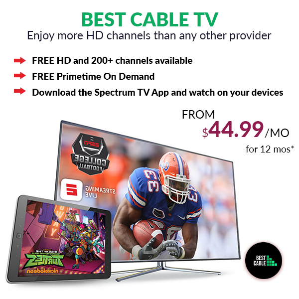 With Best Cable TV package, you can have access to the
