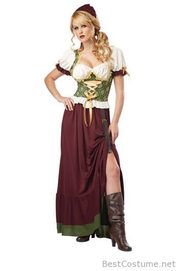 Italian Women S Halloween Costume Wench Costume Oktoberfest Fancy Dress French Maid Costume Halloween