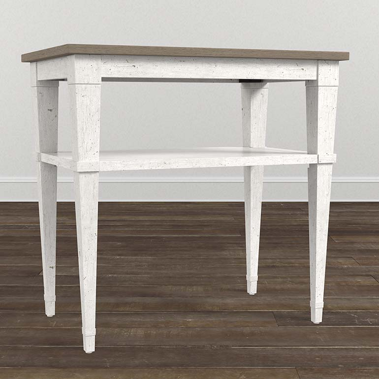 Bella Chairside Table Chair Side Table Bassett Furniture Furniture