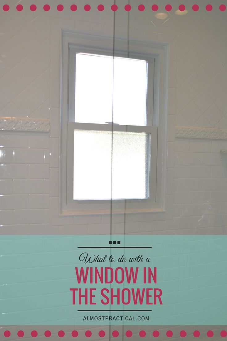Window In The Shower What You Should Do Craft Ideas Bathroom Windows