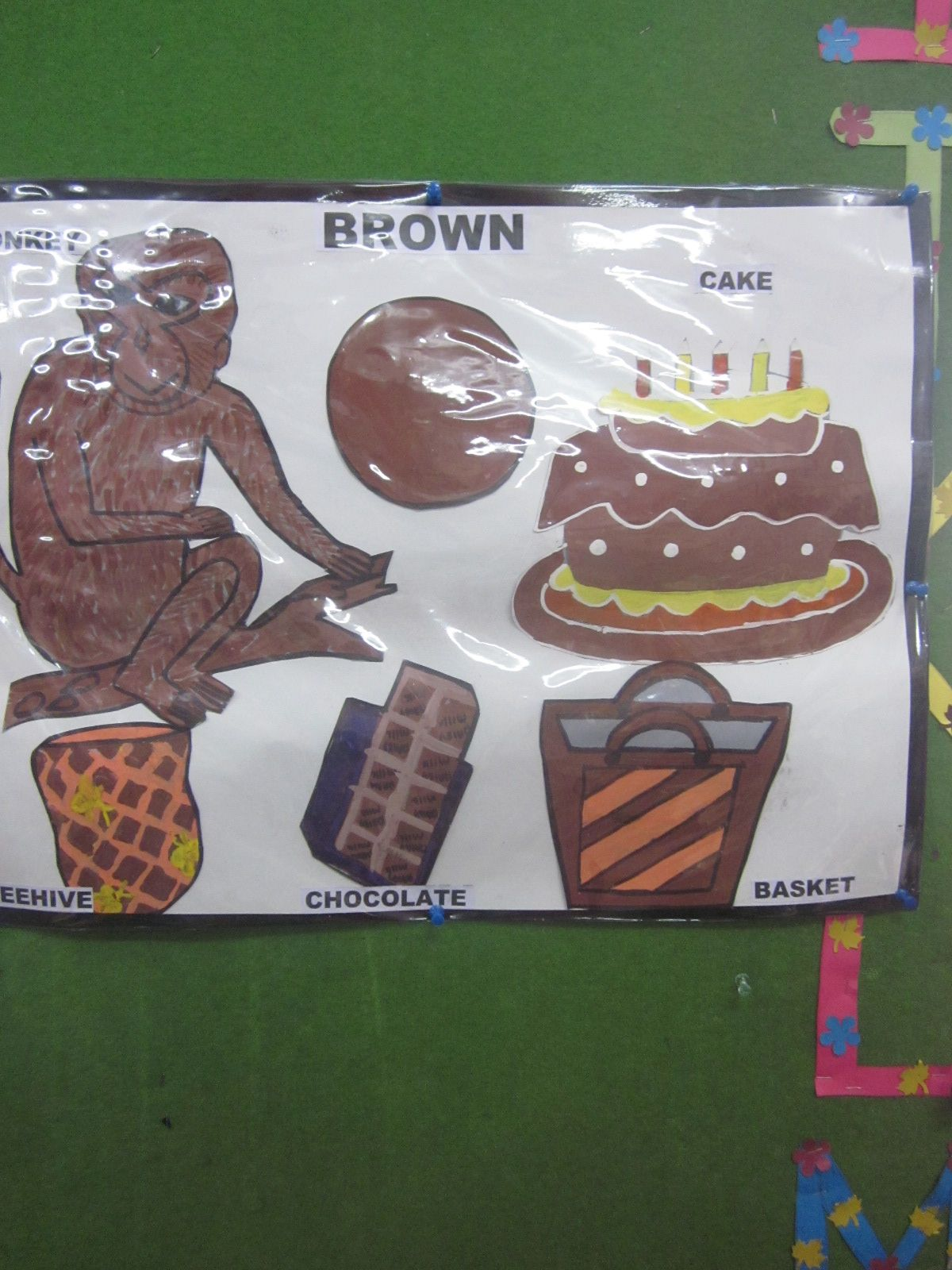 It Was Celebration Of Brown Colour Day In The Kindergarten