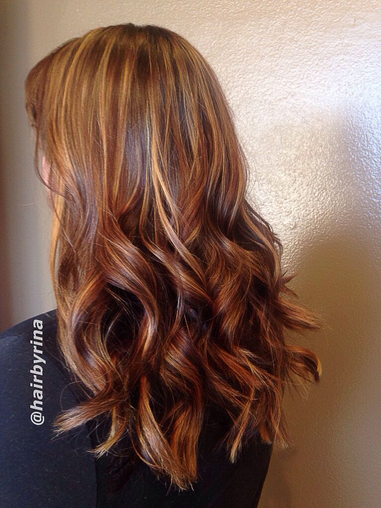 Dimensional Highlights and lowlights Highlighted her whole ...