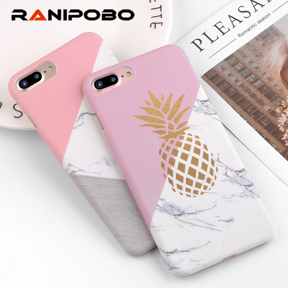 buy online 92ab1 b9fa9 Luxury Phone Case For iphone 7 Case Geometric Splice Gold Amazon ...