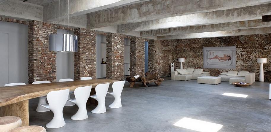 Rustic House... Absolutely My Style :)) · Brick Wall InteriorsBrick InteriorWhite  Interior DesignStudio ...