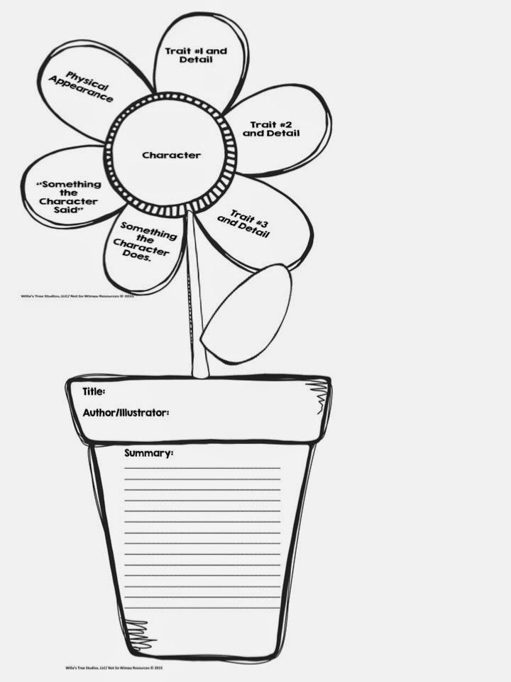 Spring Into Literacy With A Blooming Book Report Book