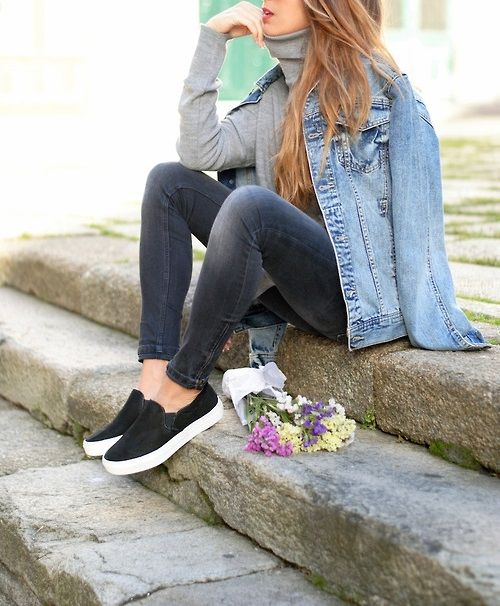 pony hair slip on, sneaker, outfit -