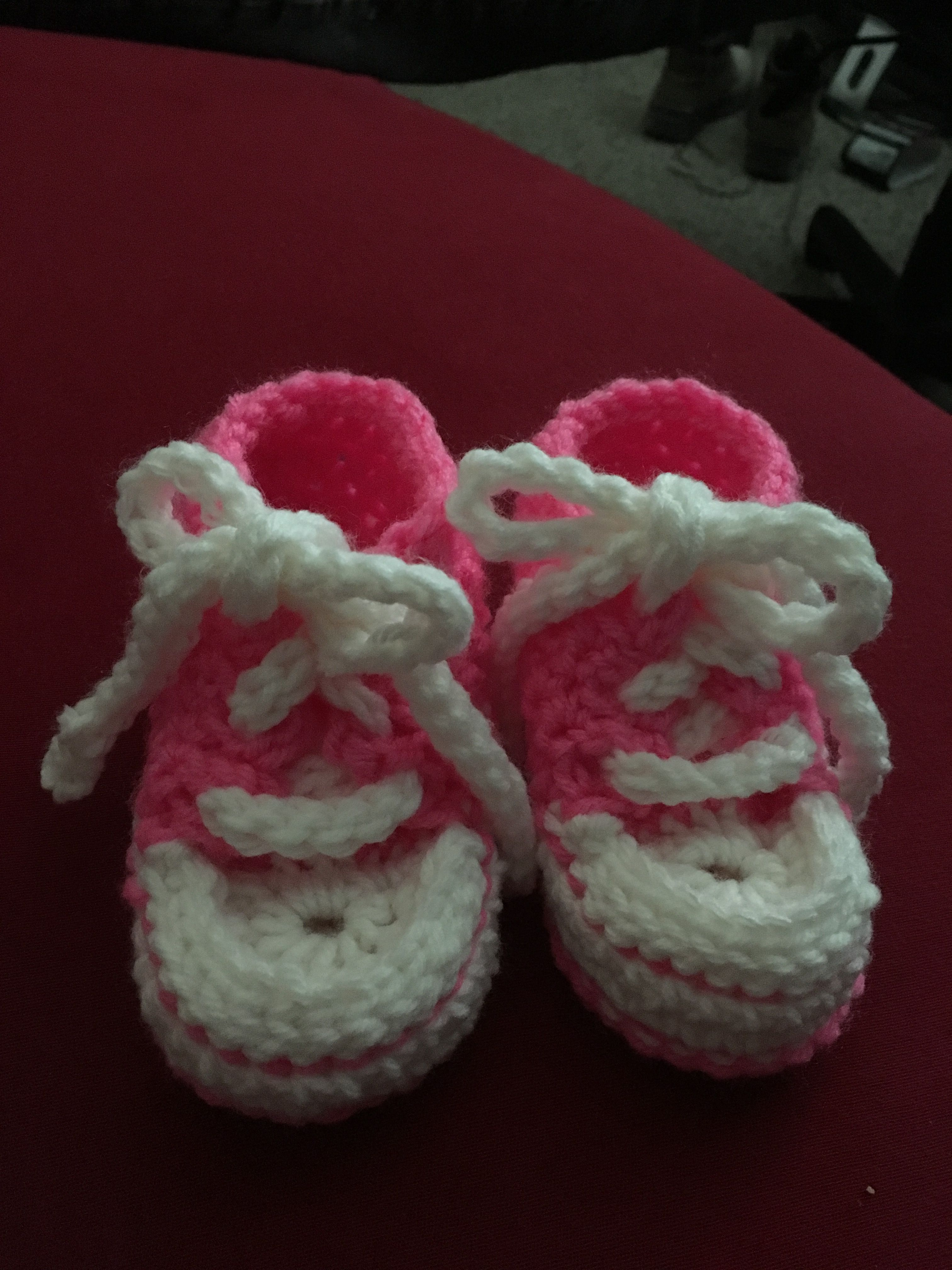 Baby Converse Slippers Free Pattern Crochet Baby Slippers