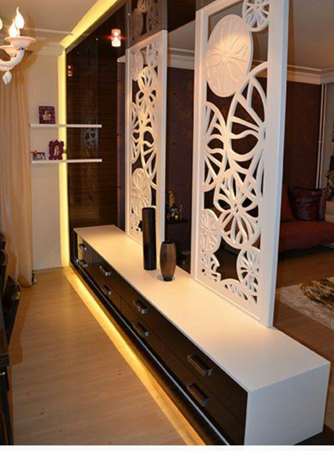 Partition design wood luxury bedroom tv unit sofa also best interior furniture decorating ideas decor units rh pinterest