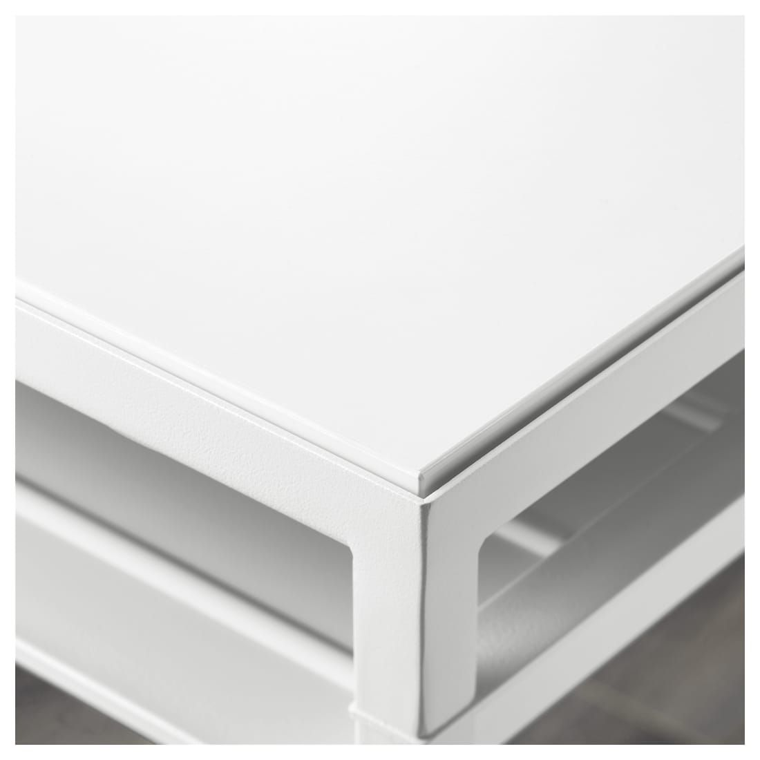 Nyboda Side Table W Reversible Table Top White Gray Ikea Side Table Living Room Decor Furniture Table Top [ 1100 x 1100 Pixel ]