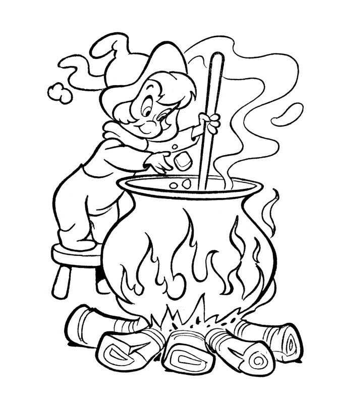Casper Meets Wendy Coloring Page Witch Coloring Pages Halloween Coloring Coloring Pages