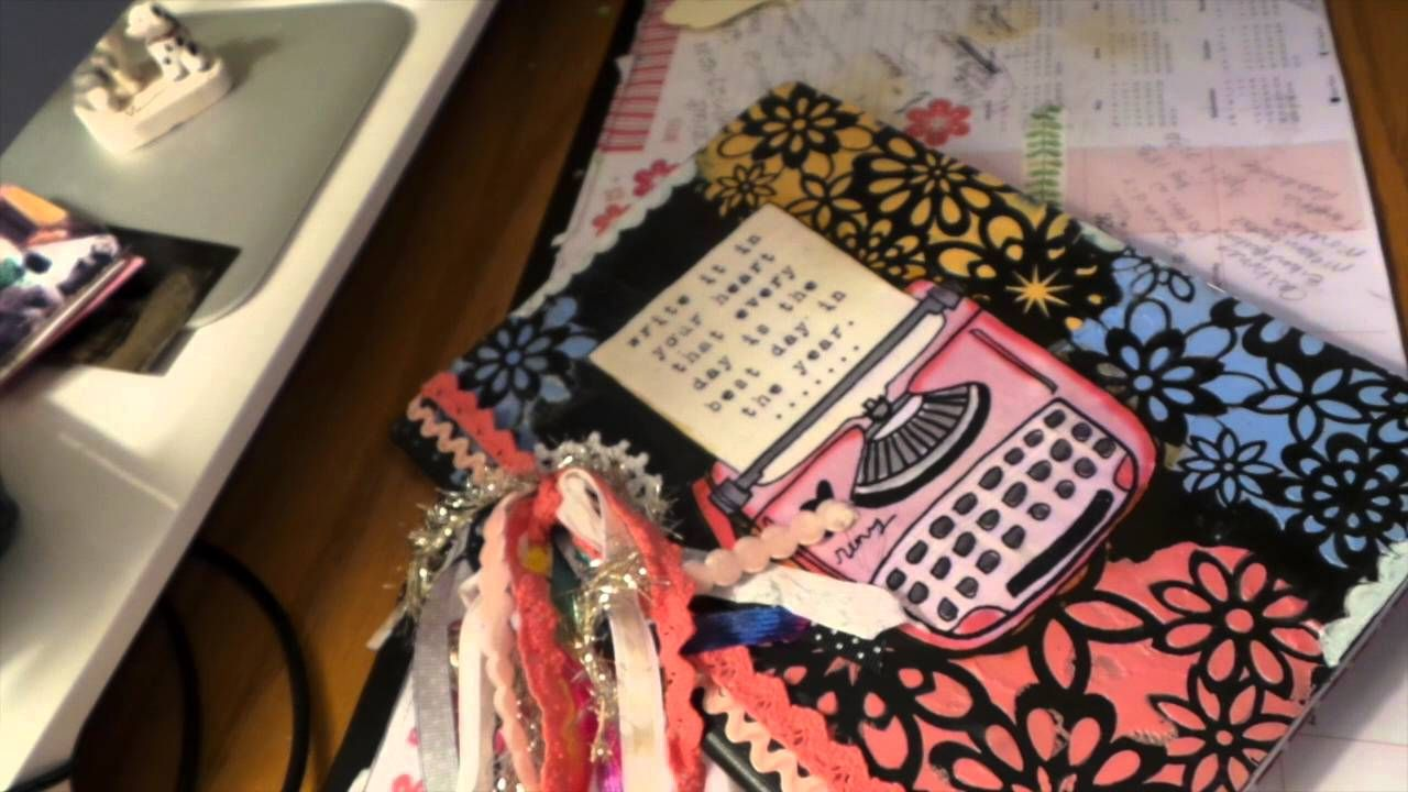 Dollar tree craft upcycled composition books for craft