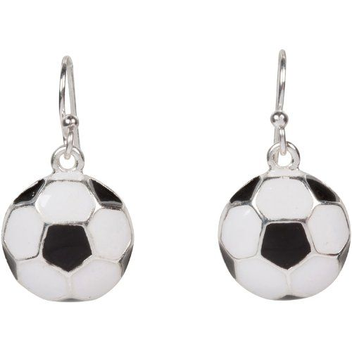 Soccer Ball Earrings Make A Great Gift For An 8 Or 9 Year Old