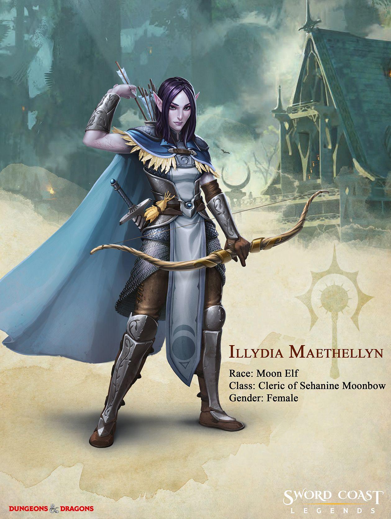 Companion Bio: Illydia Maethellyn | Sword Coast Legends ...