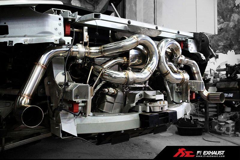 Audi R8 V10 Plus Fitted With Fi Exhaust Audi R8 V10 Plus Audi R8 V10 Audi