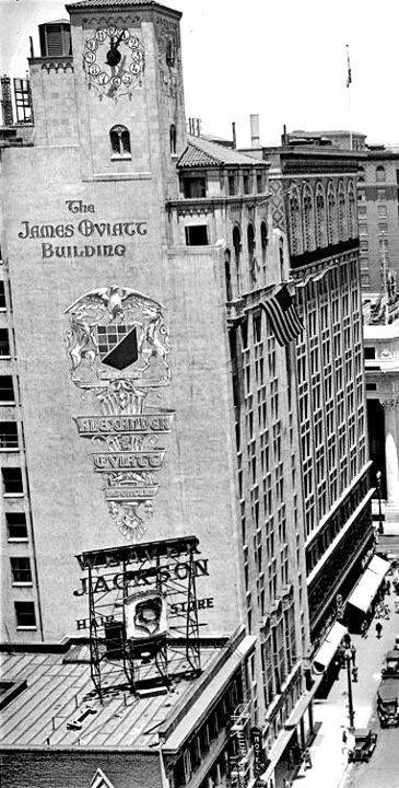 James Oviatt Building Los Angeles History Vintage Los Angeles Los Angeles City