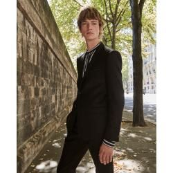 Photo of The Kooples – Elegant black wool jacket with lapels – Damenthekooples.com