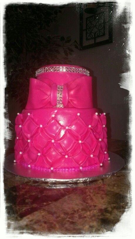 Rosa/brillos / cake