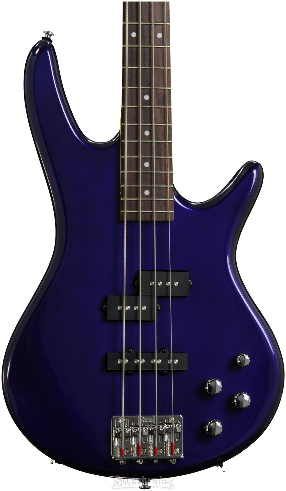 Ibanez Gsr200 Active Electric Bass Guitar In Jewel Blue In The