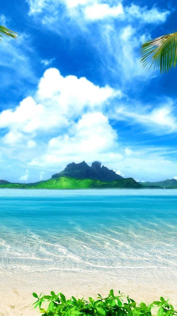 Tropical iPhone 6 Wallpaper 25216 Beach iPhone 6