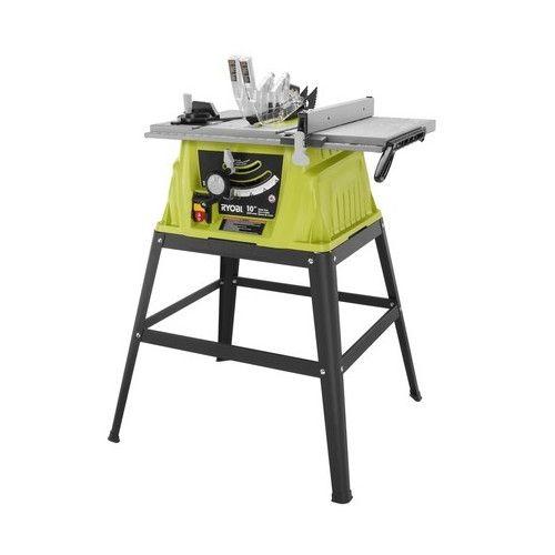 Ryobi Rts10g 120v 15 Amp 10 Table Saw Tools Home Repair 01242017 64 Ryobi Ryobi Used Tools For Sale Tools For Sale