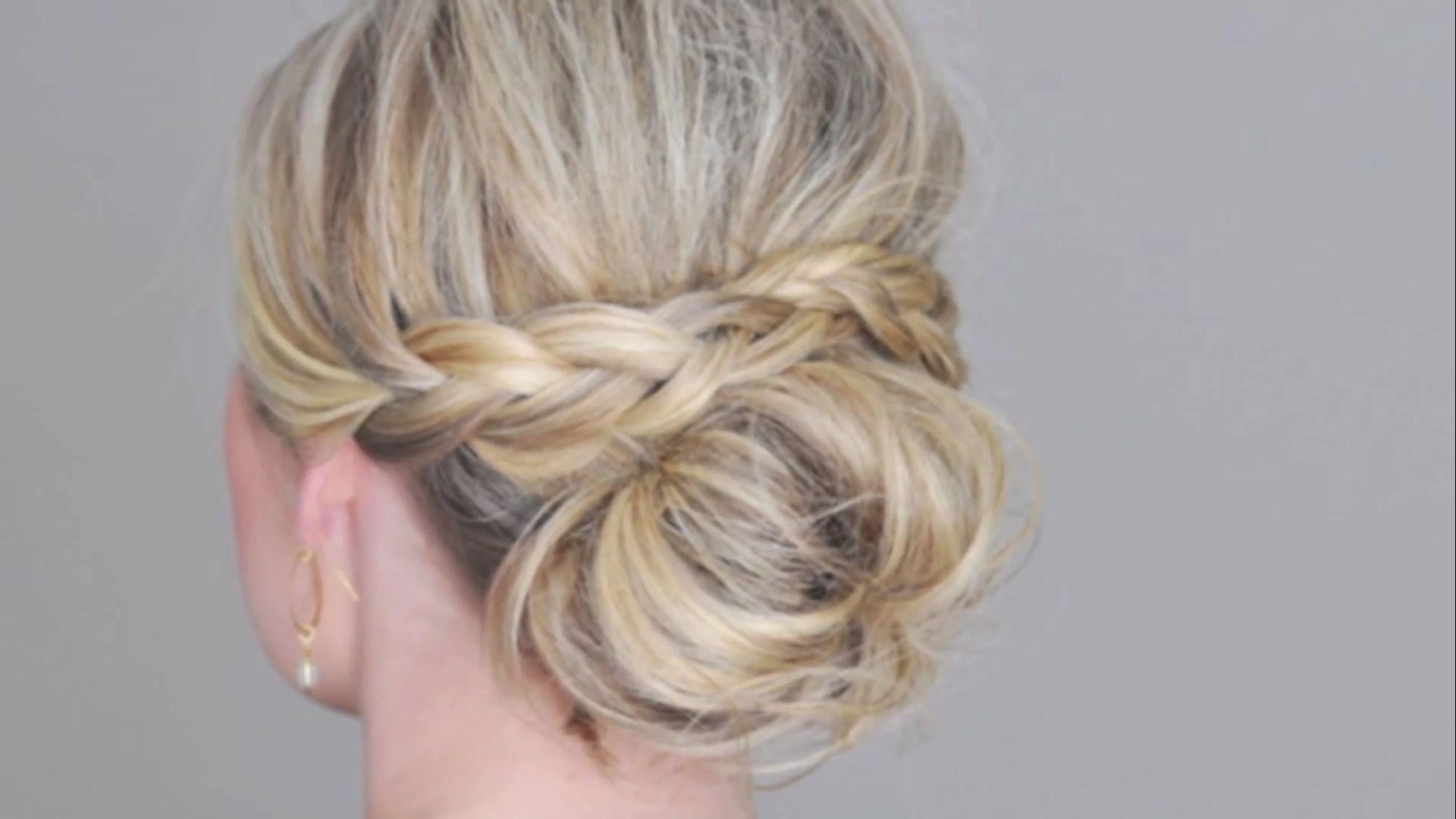 braided updo | wedding | thin hair updo, wedding hairstyles