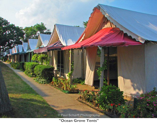 The Ocean Grove Tents - NJ - if you ever get a chance. & The Ocean Grove Tents - NJ - if you ever get a chance...wonderful ...