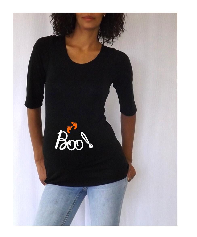 3c94a18d7a66c Halloween maternity shirt