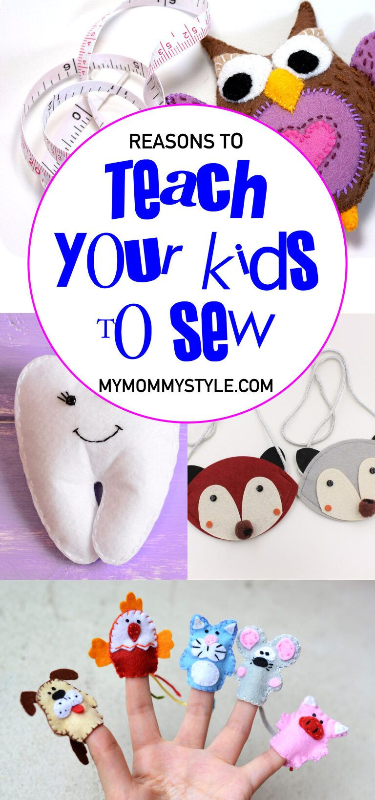 My Mommy Style - Activities for Kids - Children's Sewing Ideas
