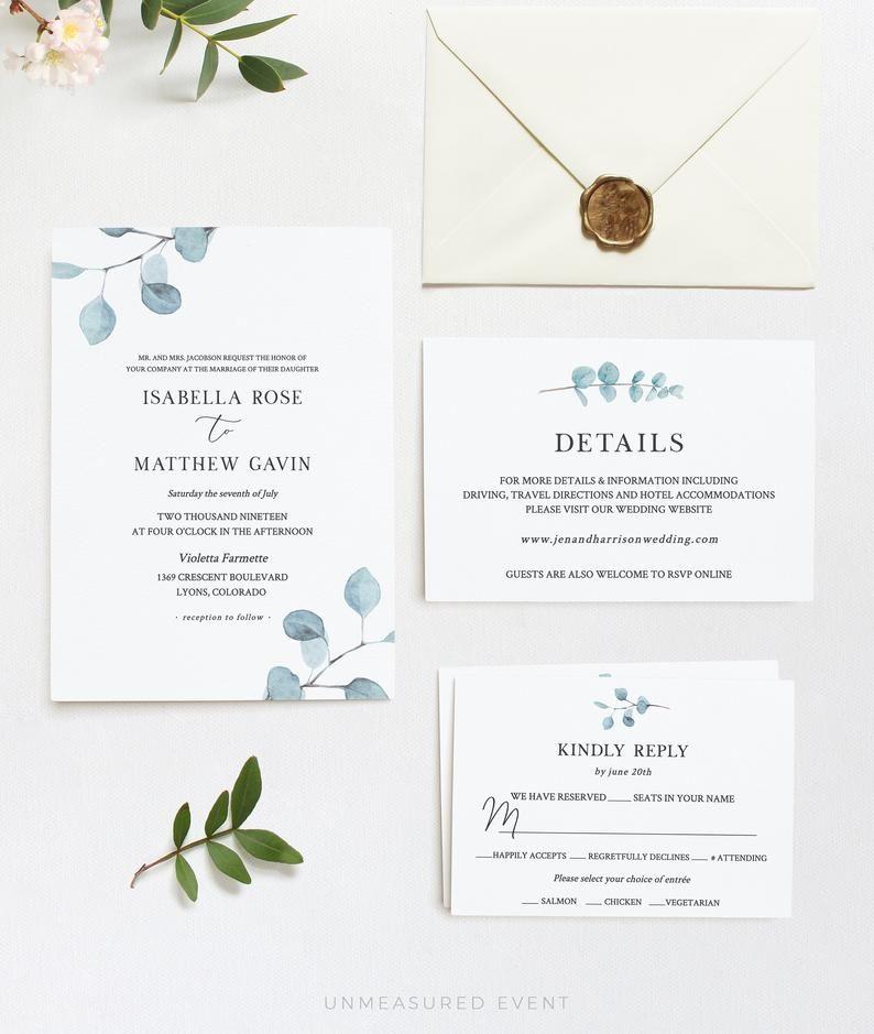 CIRCLE GREY Suite wedding invitation suite Full suite printable wedding suite DIY editable template instant download package