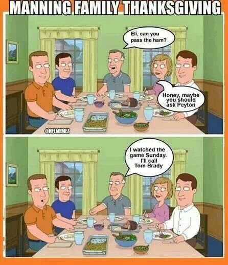 Manning Thanksgiving Funny Meme Pictures Funny Thanksgiving