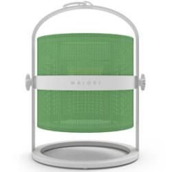 La Lampe Petite Led Solarlampe / kabellos - Gestell weiß - Maiori - Weiß,Grasgrün Maiori #bluetoothtechnology