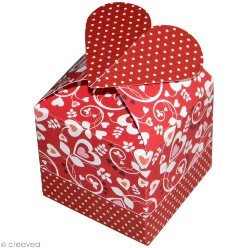 Favori Tuto boîte cadeau coeur - Idées conseils et tuto Fête des mères  NZ55
