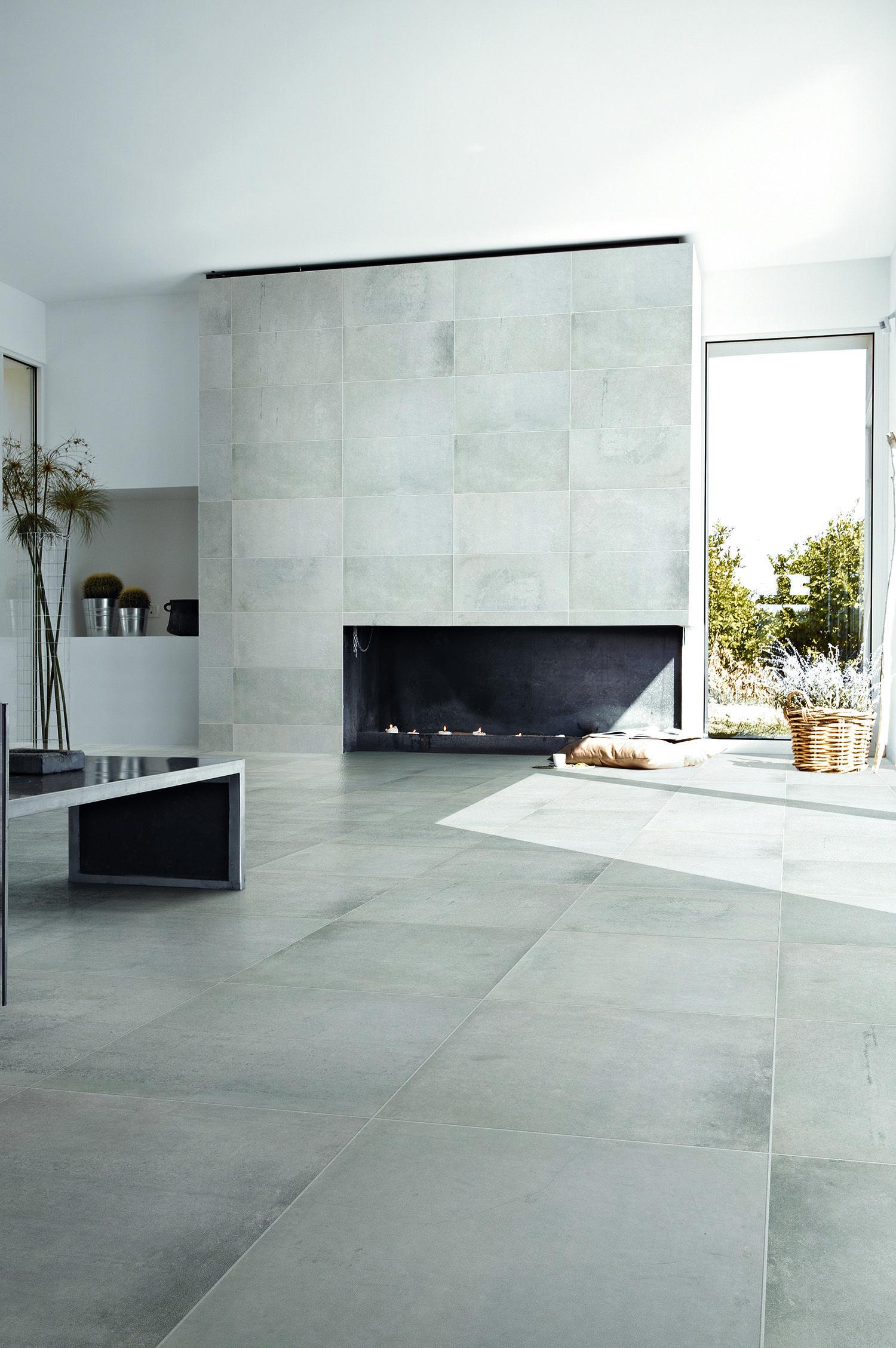 concrete look porcelain tiles tile
