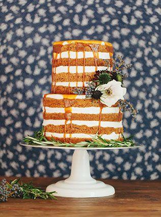 Тренд 2015 — свадебные торты с открытыми коржами | Осенние ...