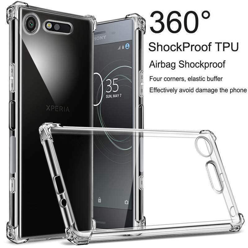 promo code b6a04 2dd38 $1.68 - Crystal Shockproof Gel Tpu Case Cover For Sony Xperia Xz2 ...