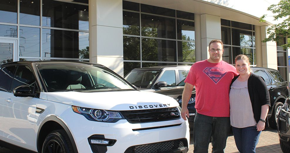 Fields Land Rover >> Congratulations To Kristin And Dustin On The Purchase Of