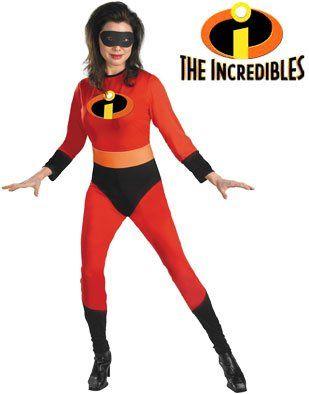 Amazon.com Womens The Incredibles Elastigirl Super Hero Costume Clothing  sc 1 st  Pinterest & Amazon.com: Womens The Incredibles Elastigirl Super Hero Costume ...